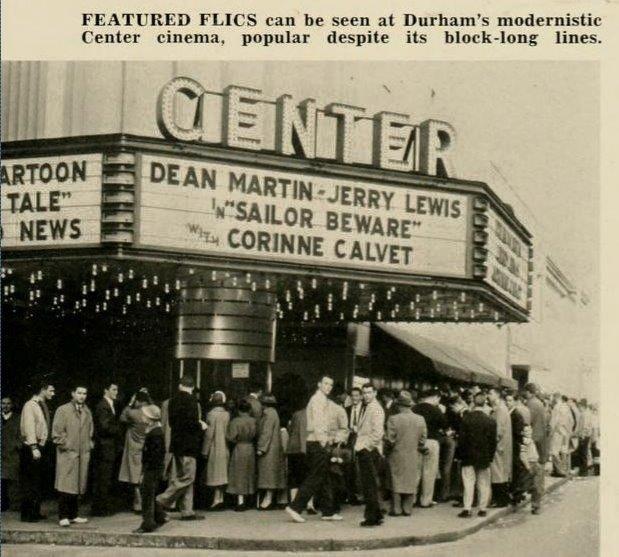 Center Theater Downtown Durham
