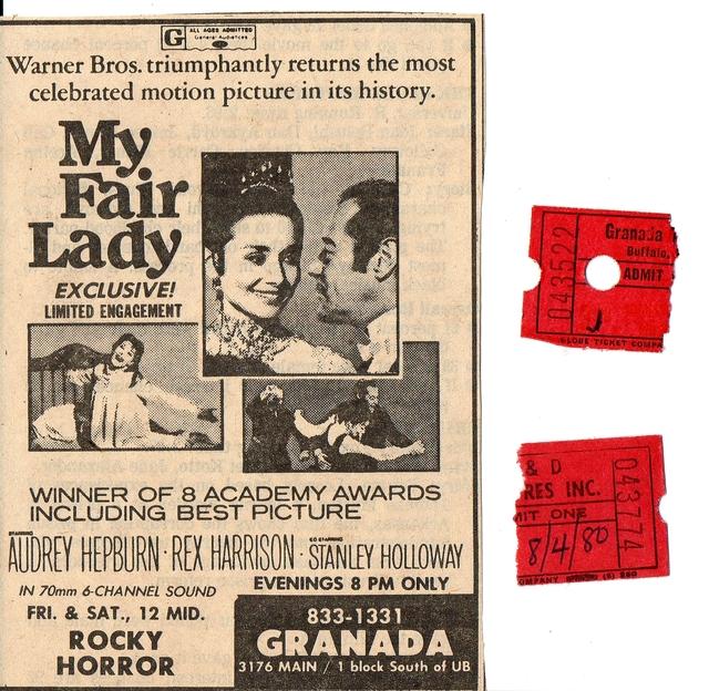 My Fair Lady - July/Aug. 1980 Granada 70mm