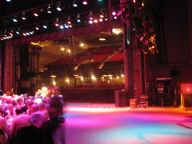 State Theatre (Cleveland) Auditorium from rear stage