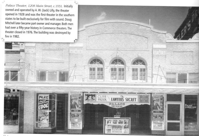 Palace Theater, Commerce, Tx