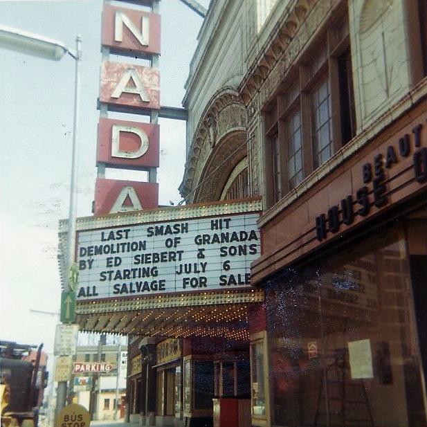 Granada Theater, 1971