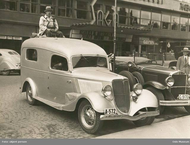 1930's photo credit Oslo Museum.