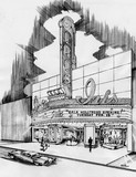 Fox Theatre in Hollywood remodel