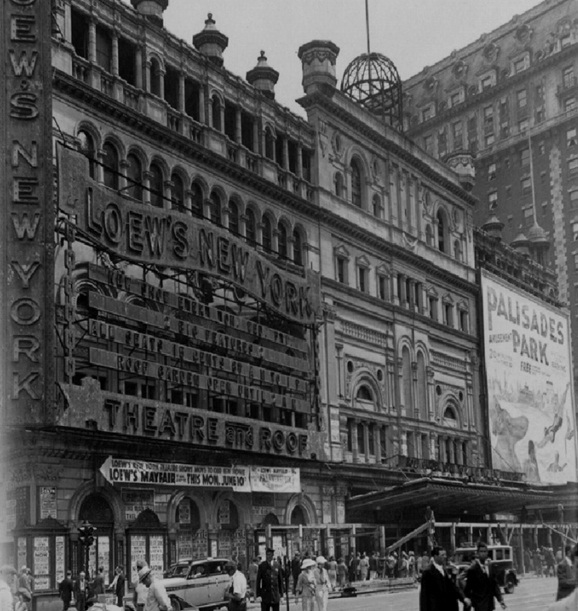 Loew's New York Theatre and Roof