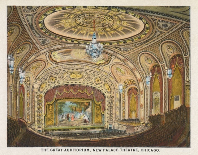 cadillac palace theatre in chicago il cinema treasures. Cars Review. Best American Auto & Cars Review