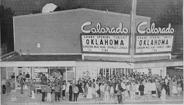 Circa 1956 Grand Opening image courtesy of John Schafluetzel.