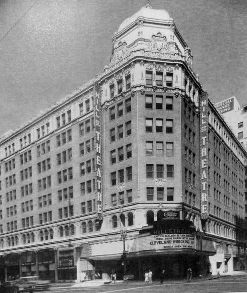 RKO's Hillstreet Theatre exterior (final exterior)