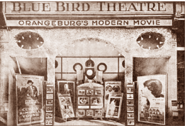 blue bird theater cinema treasures