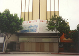United Artists Theatre in Pasadena around 1996