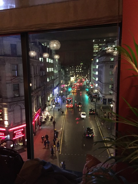 View from Members Bar