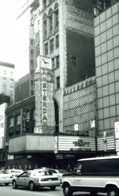 new amsterdam theatre 42nd street