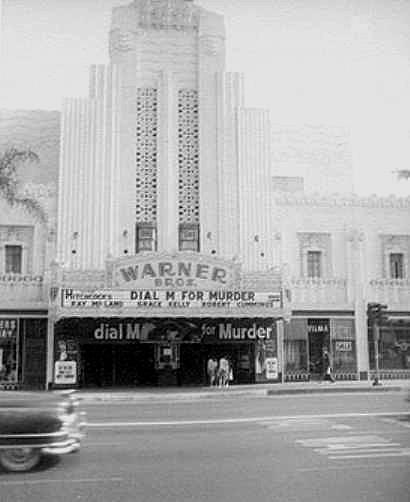 "Warner Beverly Hills Theatre ""Dial M for Murder"" engagement"