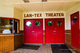 Lan-Tex Theater, Llano Texas - Autumn 2015