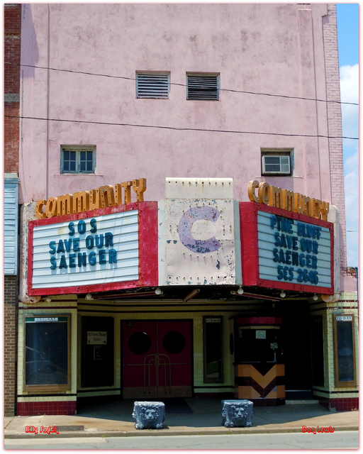Community Theater...Pine Bluff AR / Billy Smith / Don Lewis
