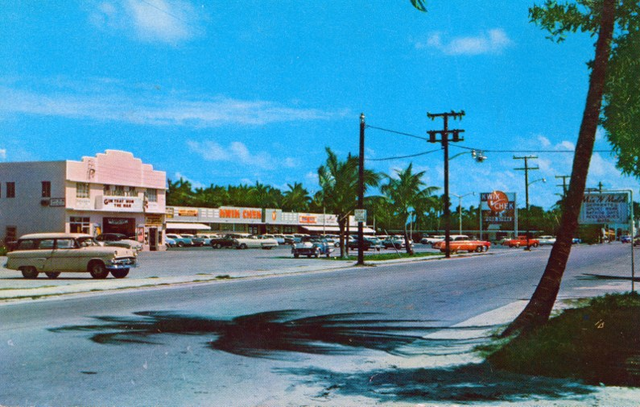 Boynton Theater from a postcard, circa mid to late 1950s