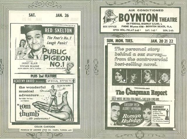 Ad from January 1963