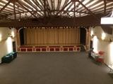 Inside of renovated Eagle Theater, Pontiac, IL