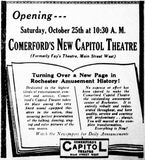 October 20th, 1930 grand opening ad