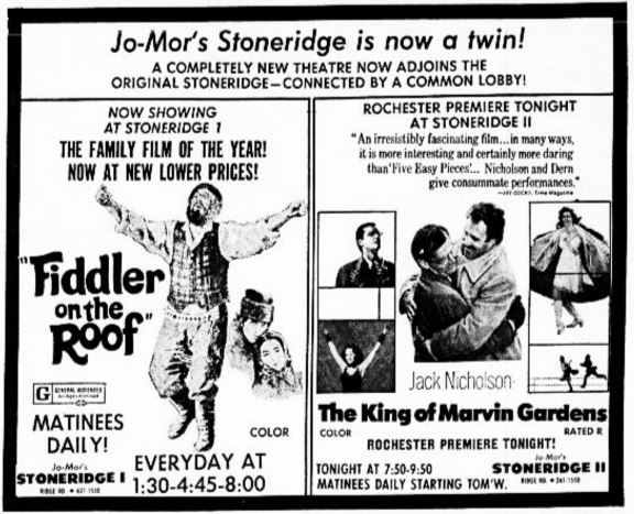 Rochester new york movie times