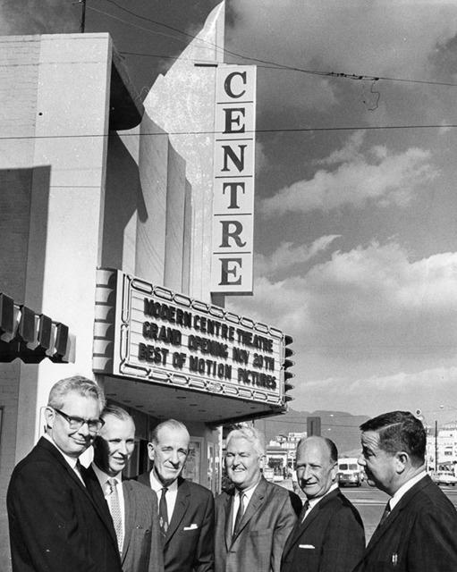 Centre Theater in San Fernando, 1963