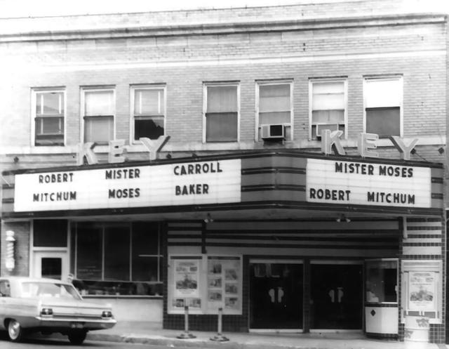 Key Theater  115 N. Wewoka Avenue, Wewoka, OK...1965