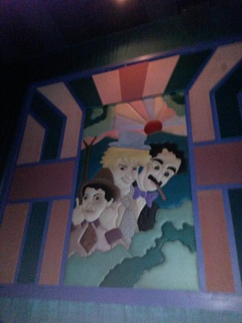 "Regal Cinemas Sawgrass 23- Auditorium 14 Mural ""Marx Bros."""