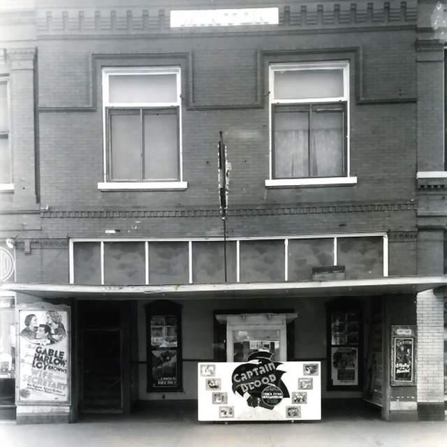 Rex Theatre  Clinton, OK...1936.