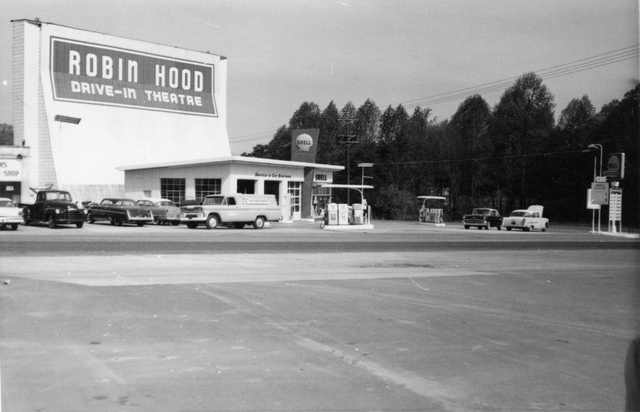 Robin Hood Drive-In Theatre 1965