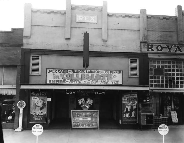 Rex Theatre  Town Square, Altus, OK...1936.