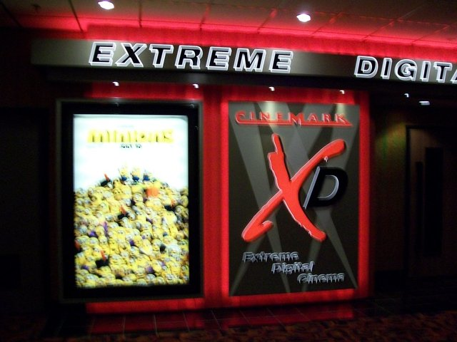 Cinemark XD (Extreme Digital Cinema)
