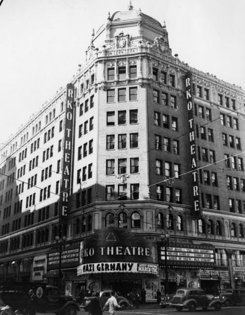 RKO's Hillstreet Theatre exterior