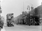Turn of the century shot of Dalston Lane with the theatre on the right