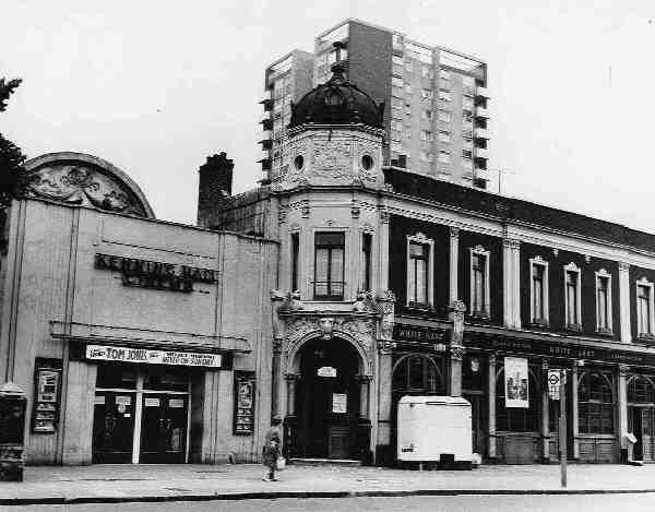 Kenning Hall Cinema Clapton London