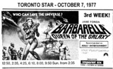 "AD FOR ""BARBARELLA"" - IMPERIAL SIX THEATRES"