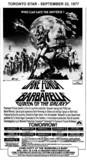 "AD FOR ""BARBARELLA"" - BRAMALEA 1 AND OTHER THEATRES"