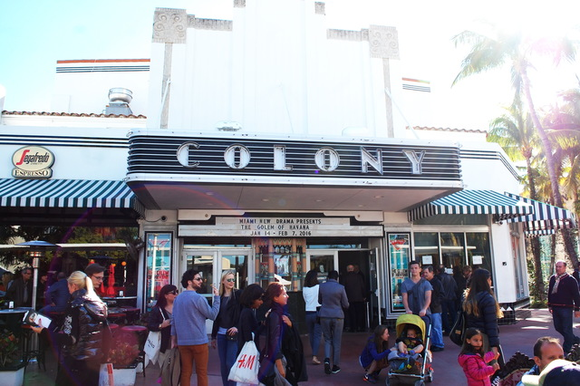 colony theatre in miami beach fl cinema treasures