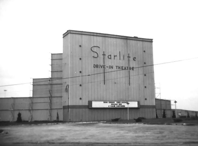 Starlite Drive-In  Highway 18, Shawnee, OK...1942.