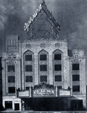 <p>The Uptown Theatre at opening February 16, 1929 for the Warner Bros. circuit.</p>