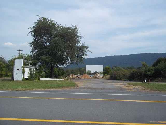 Starlite Drive-In on the road to Bellefonte, PA