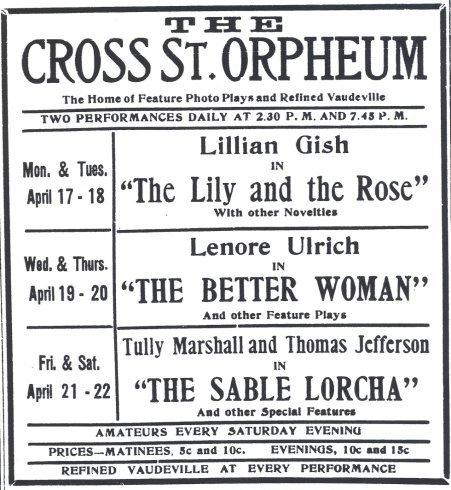 Cross Street Orpheum