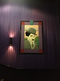 "Theater 11 Mural - ""Charlie Chaplin"" (Left Wall)"