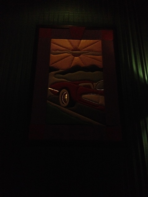 "Theater 12 Mural - ""Corvette"""