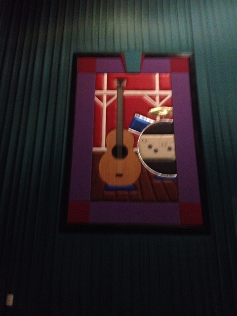 "Theater 10 Mural - ""Musical Instruments"""