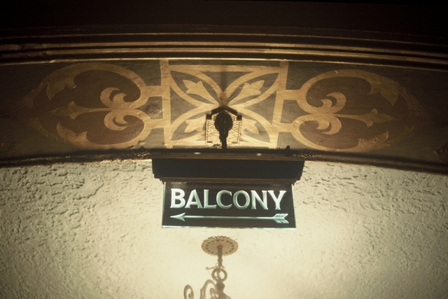 Golden State Balcony Etched Sign