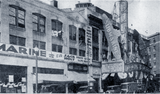 "<p>There is a great marquee topper by the Loew's State Theatre for ""Submarine"" in 1928</p>"