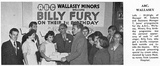 Billy Fury at the ABC Minors