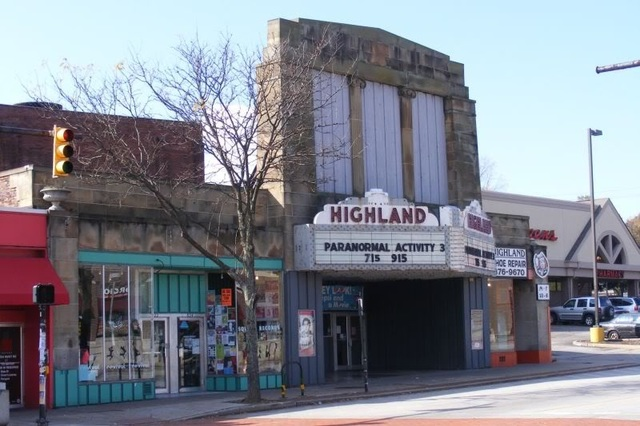 Highland Square Akron >> Highland Square Theatre In Akron Oh Cinema Treasures