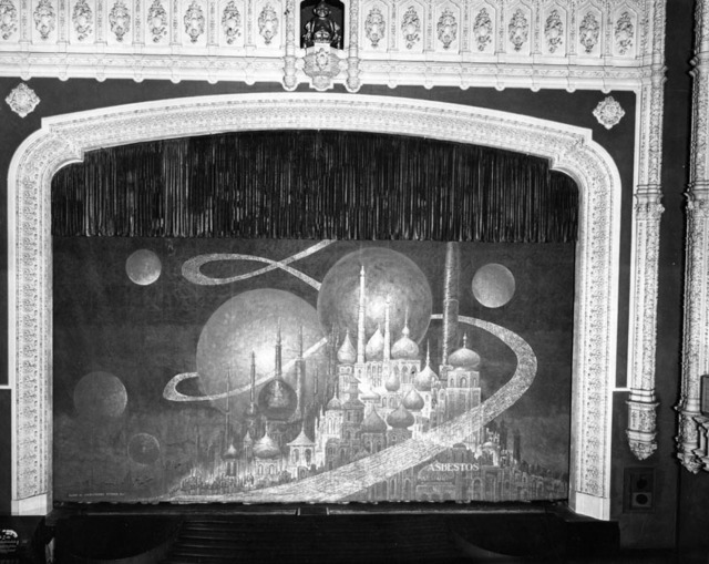 Loew's State Theatre Asbestos curtain