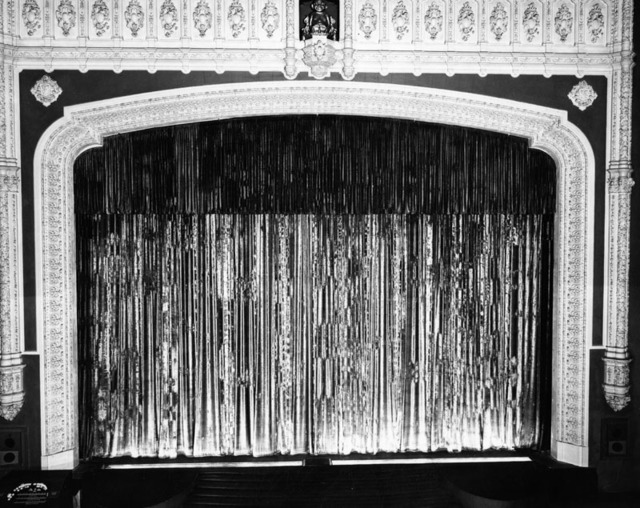 Loew's State Theatre Main curtain