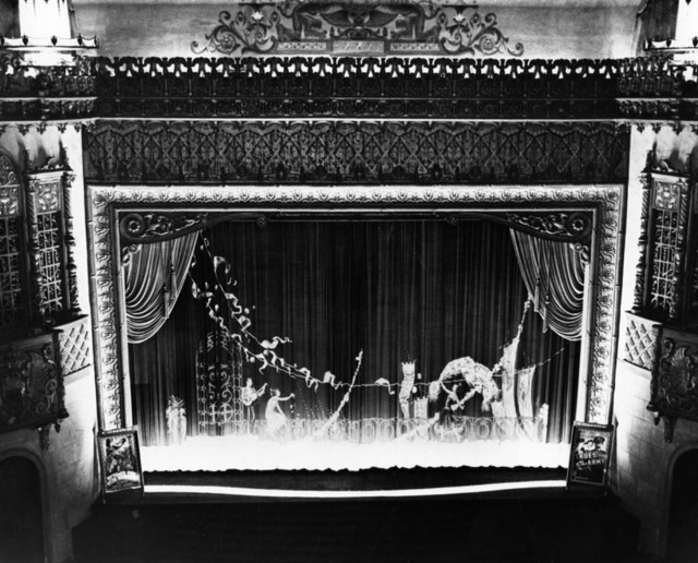 Fox Ritz Theatre Main curtains